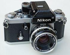 Nikon F2 Photomic 35mm SLR Camera & Nikkor H 50mm F2 Lens by clicks_1000 (Away...), via Flickr #NikonDigitalCameras