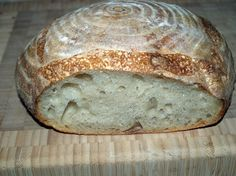 1.2.3, An Easy Formula for Sourdough Bread