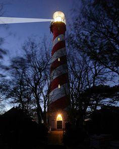 Lighthouse of Burgh-Haamstede.  Photo: @swagloet