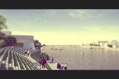 Drava Riverside Project - Maribor/SLOVENIA #waterfront #Maribor #Slovenia #River #Landscape #Coastal #BEMS #StudioBEMS