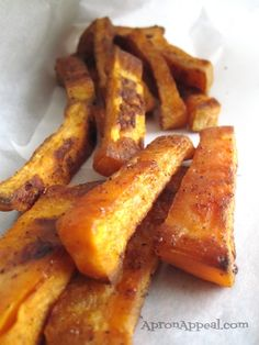 Apron Appeal: Sweet Potato Oven Fries