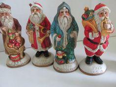 Bisque Santa's From Around the World Bisque by ReVintageLannie