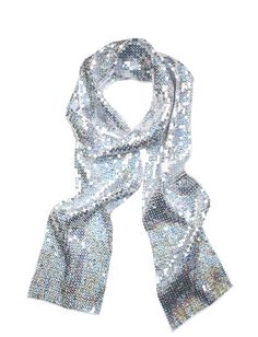 Sheer Sequin Scarf | Fashion Scarves | Fashion Hats & Scarves | Shop Justice for both