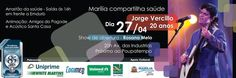 Blog Cidade de Marília: JORGE VERCILLO - EM MARÍLIA