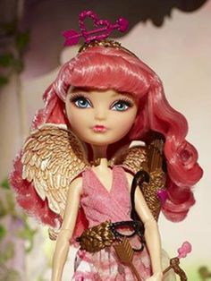 CA CUPID EVER AFTER HIGH DOLL! OMG I NEED THE MONSTER HIGH ONE BEFORE SHE IS GONE FOREVER :O