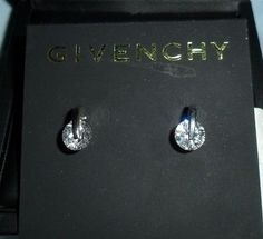 Crystal Drop Jewelry Box Jewellery Round Earrings Givenchy Dress Up Crystals Jewel