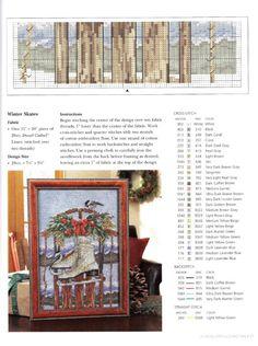 Gallery.ru / Фото #48 - A Cross Stitch Christmas - Holiday Celebrations - ravi skates chart 2