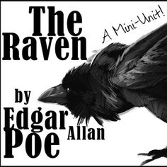 """Raven: """"The Raven"""" by Edgar Allan Poe#TheRaven #EdgarAllanPoe #Poetry #AmericanLiterature*****************************************************BUNDLE WITH THE Edgar Allan Poe SUPER PACK and SAVE BIG!*****************************************************This lesson is can also be paired with Edgar Allan Poe- A CSI Activity!In need of extra activities and resources to enhance your Edgar Allan Poe unit?"""