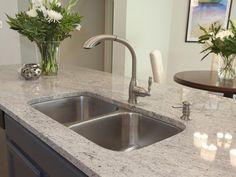 Neutral kitchen countertop