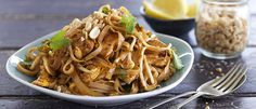 Quick & Easy Chicken Pad Thai recipe from Food in a Minute