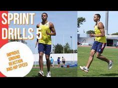 SPRINT DRILLS 5 DEVELOP A POWERFUL GROUND CONTACT, DEVELOP MORE FORCE AND HIP SPEED - YouTube Sprinter Workout, Running Drills, Track And Field, Workouts, Bands, Fitness, Youtube, Track Field, Band