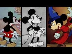 """Mickey Mouse appeared in his 1st animated cartoon, """"Plane Crazy,"""" 84 years ago! Learn more about the character's history."""