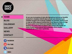 Moonfruit Template - Dance Dance #website #design