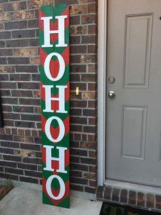 Christmas Porch Decor Sign on Mercari Christmas Pallet Signs, Christmas Wood Crafts, Christmas Porch, Christmas Projects, Holiday Crafts, Christmas Decorations, Christmas Ornaments, Wooden Crafts, Diy Crafts