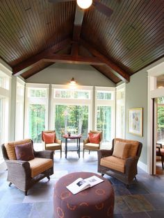 Porch Three Season Room Design, Pictures, Remodel, Decor and Ideas - page 31