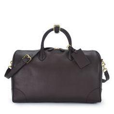 Soft Gents Calfskin Duffel - Ralph Lauren Travel Bags - RalphLauren.com #fashion & #style
