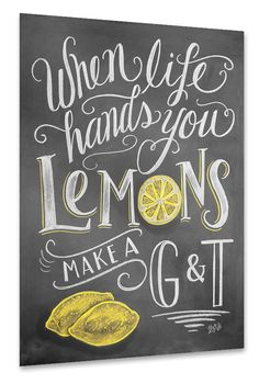Gin and Tonic als Poster bei artboxONE kaufen