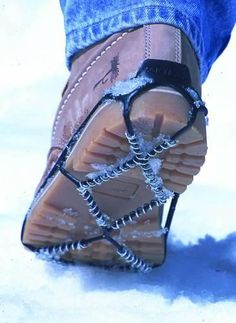 Yaktrax Traction Cleats for Snow and Ice: It's supposed to be a rough winter!