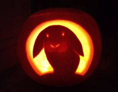 Think I'll try and do this one on my pumpkin!