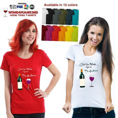 Funny wine tshirt TSL09 Age to Perfection. 40th by Wine4Mankind