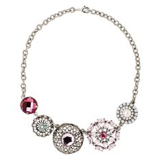 PIPPA&JEAN FROZEN FLOWER Necklace (Pink)