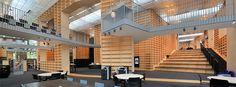 Musashino Art University Library, Tokyo, Japan | 武蔵野美術大学 美術館・図書館