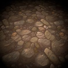 Hand-Painted Ground Rock Texture Pack Vol.01 is ready for your game