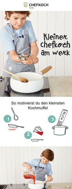 Vom Kochmuffel zum kleinen Chefkoch - mit Chefkoch Kids!