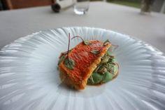 salmonete con alcachofas restaurante el lago