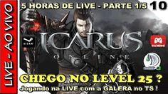 RIDERS OF ICARUS GAMEPLAY - LIVE de 5 HORAS CHEGANDO AO LEVEL 25 no open... Icarus Online, Riders Of Icarus, Gameplay, 1, Live, Movie Posters, Film Poster, Billboard, Film Posters