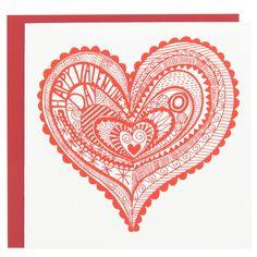 iheartprintsandpatterns: Valentine's Day by Paperchase