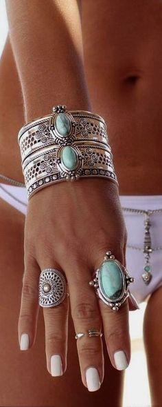 Boho jewelry style …  Boho jewelry style … Más