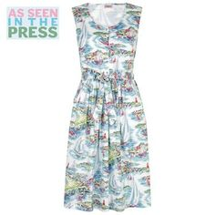 Cath Kidston - Sailing Button Front Dress  I have this dress & it is divine!