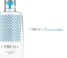 Syrena on Packaging of the World - Creative Package Design Gallery Premium Vodka, Glass Packaging, Letterhead, Packaging Design Inspiration, Flask, Vodka Bottle, Creative Package, Package Design, Gallery