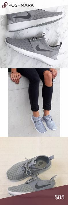 Women's Nike Grey Juvenate Low Running Sneakers Women's Nike Grey Juvenate Low Running Sneakers is designed for total comfort all day, every day with a foot hugging construction. Style/Color: 724979-005  • Women's size 9  • NEW in box (no lid) • No trades • 100% authentic Nike Shoes Sneakers