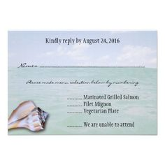 See MoreIsland Whelk Tropical Wedding Menu Reply Cards Custom InviteWe have the best promotion for you and if you are interested in the related item or need more information reviews from the x customer who are own of them before please follow the link to see fully reviews