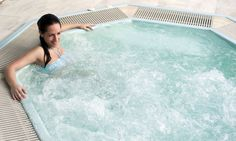 The Jacuzzi, with water heated to a very relaxing 37 degrees celcius, is the perfect place to relax and unwind after a hard day. Jacuzzi Outdoor, Perfect Place, Bubbles, Club, Water Heating, Outdoor Decor, Stay In Shape, Hotel Spa, Home Decor