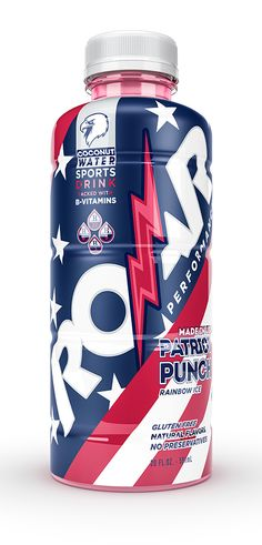 Ricebean Studio has just developed packshots for Roar Beverages Co. to release some new labels for an existing product line, the new Patriot Punch flavour and the launching of OBJXIII, which is an exclusive partnership with Odell Beckham Jr., New York Giants' wide receiver.