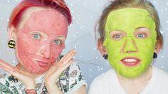 DIY: Maski na twarz w płachcie dla każdej cery ♡ Red Lipstick Monster ♡