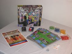 Train Line: Chicago Edition coming to kickstarter son ladies & Gentlemen. Chicago, Train, Games, Gaming, Strollers, Plays, Game, Toys