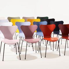 Dining Furniture, Modern Furniture, Dining Chairs, Interior Decorating, Decorating Ideas, Interior Design, Interior House Colors, Comfy Sofa, Fritz Hansen