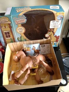 Toy Story Andy s Toy Collection Woody s Horse Bullseye Boxed
