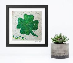 Acrylmalerei - Acrylbild auf Papier **Luck ** #139 - ein Designerstück von SoMa-Art bei DaWanda