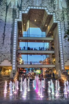 ✯ Hollywood Highland Center Water Courtyard