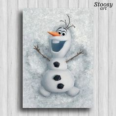 Hey, I found this really awesome Etsy listing at https://www.etsy.com/listing/258609619/disney-frozen-olaf-poster-childrens-room