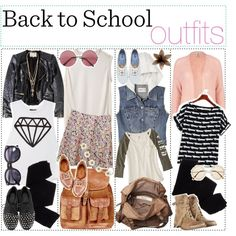Back to school outfits fashion high school style outfits clothing back to school teens