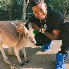 Usher (@usher) • Фото и видео в Instagram Kangaroo, Goats, Fish, Animals, Baby Bjorn, Animales, Animaux, Animal Memes, Animal