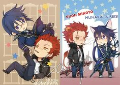 Chibi kings!