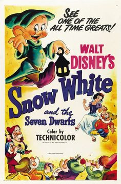 Snow White - This was the first feature length film that I remember seeing. First time was on an old reel-to-reel at the public library in the old Tallahassee Mall near RAA middle school.