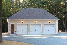 Attic Three Car Garage | Prefab garages, Garage ...
